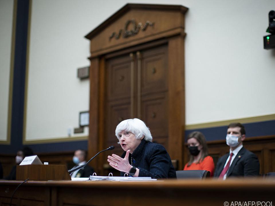 Für Finanzministerin Janet Yellen geht die Arbeit weiter