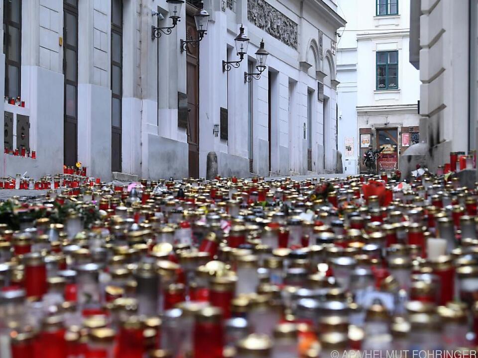 Gedenken an die Opfer des Wiener Terroranschlags