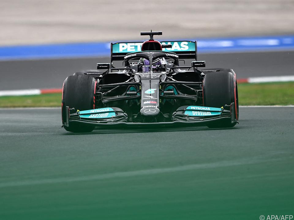 Hamilton war der Gewinner des Qualifikation
