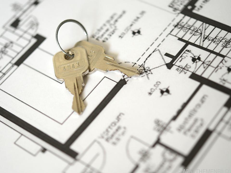 Hauspreise in Österreich um knapp 12 Prozent gestiegen