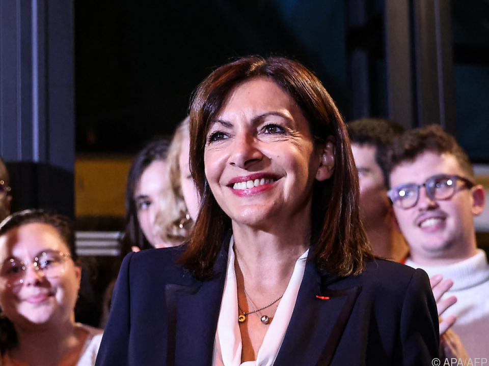 Hidalgo kam bei einer internen Abstimmung auf 72 Prozent