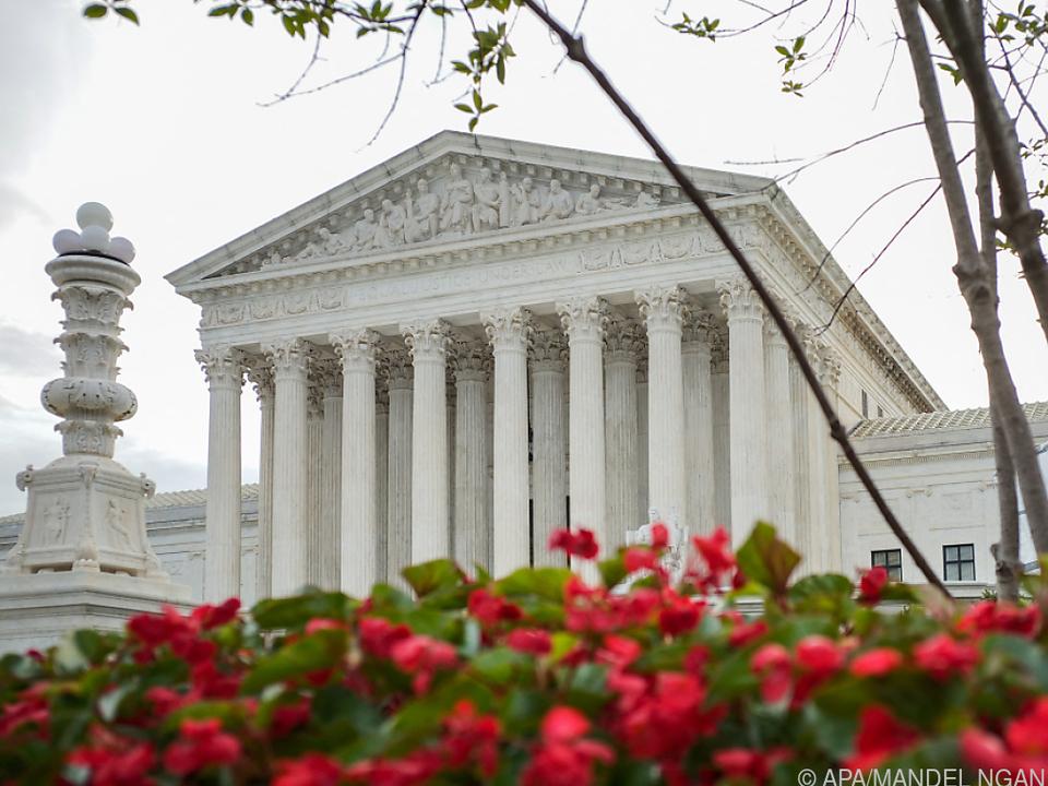Im Supreme Court in Washington wird die endgültige Entscheidung fallen