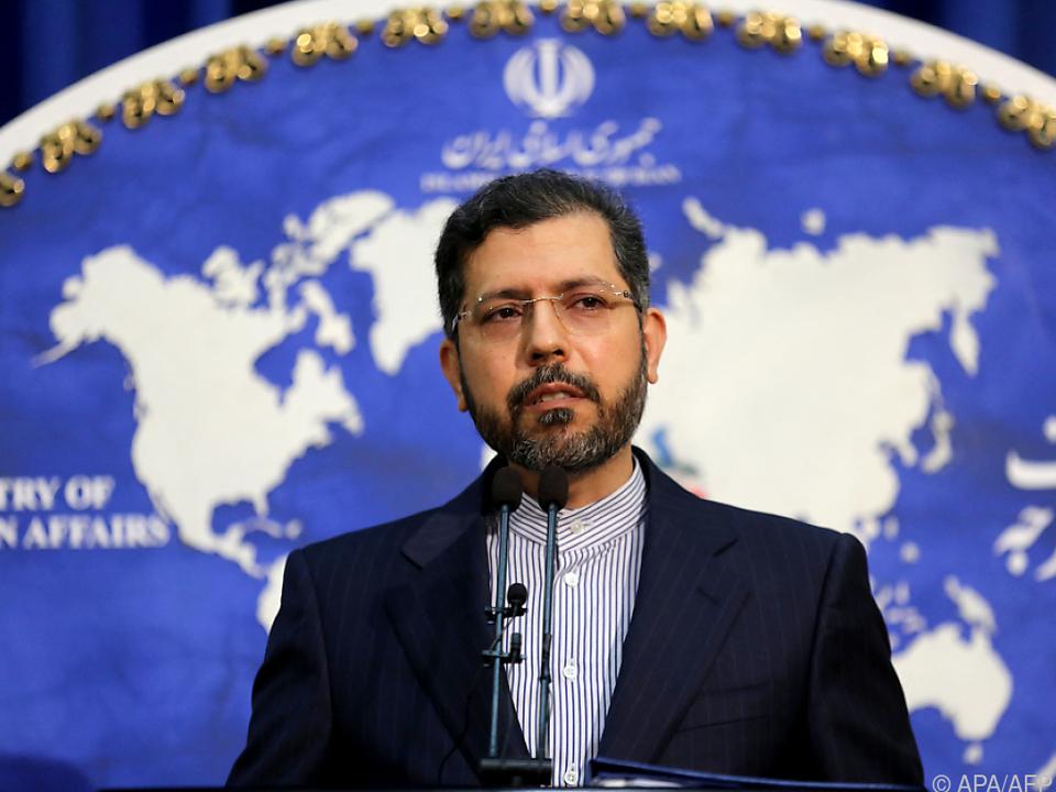 Iranischer Außenamtssprecher stellt Forderungen für Atomgespräche