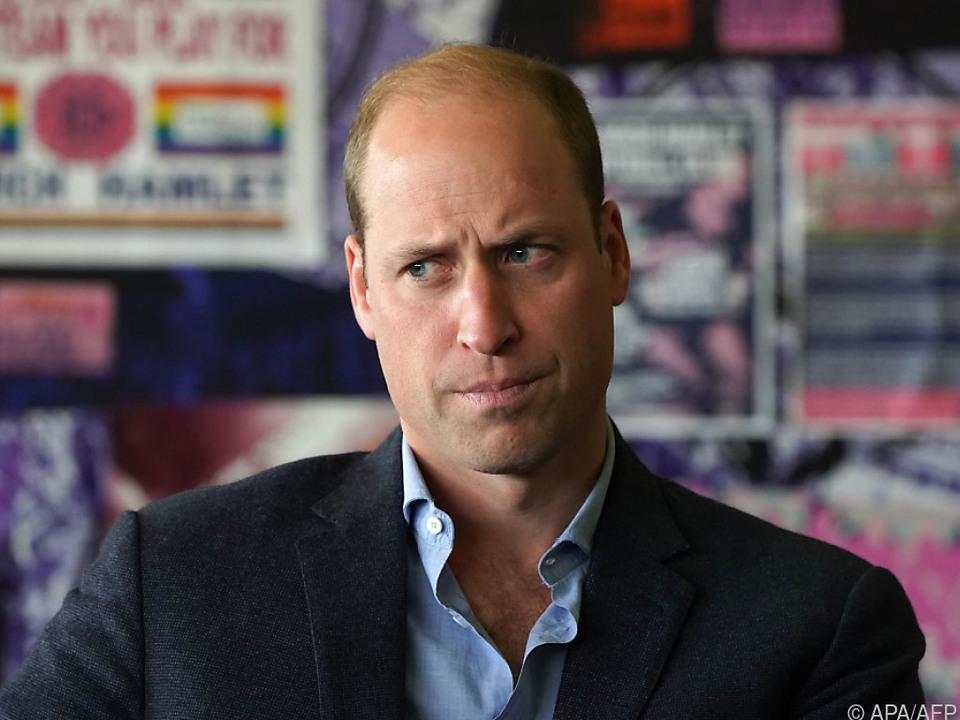 Klimaschutz für Prinz William wichtiger