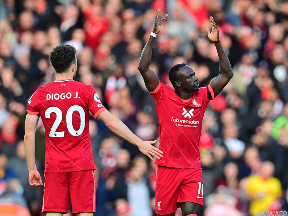 Mane schoss Liverpool gegen ManCity in Führung