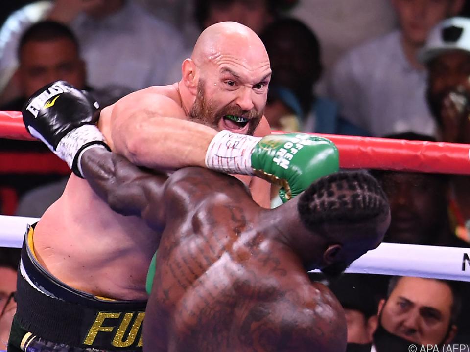 Markige Worte, harte Schläge: Tyson Fury ist \