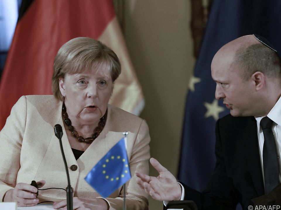 Merkel nahm an wöchentlicher Sitzung der israelischen Regierung teil