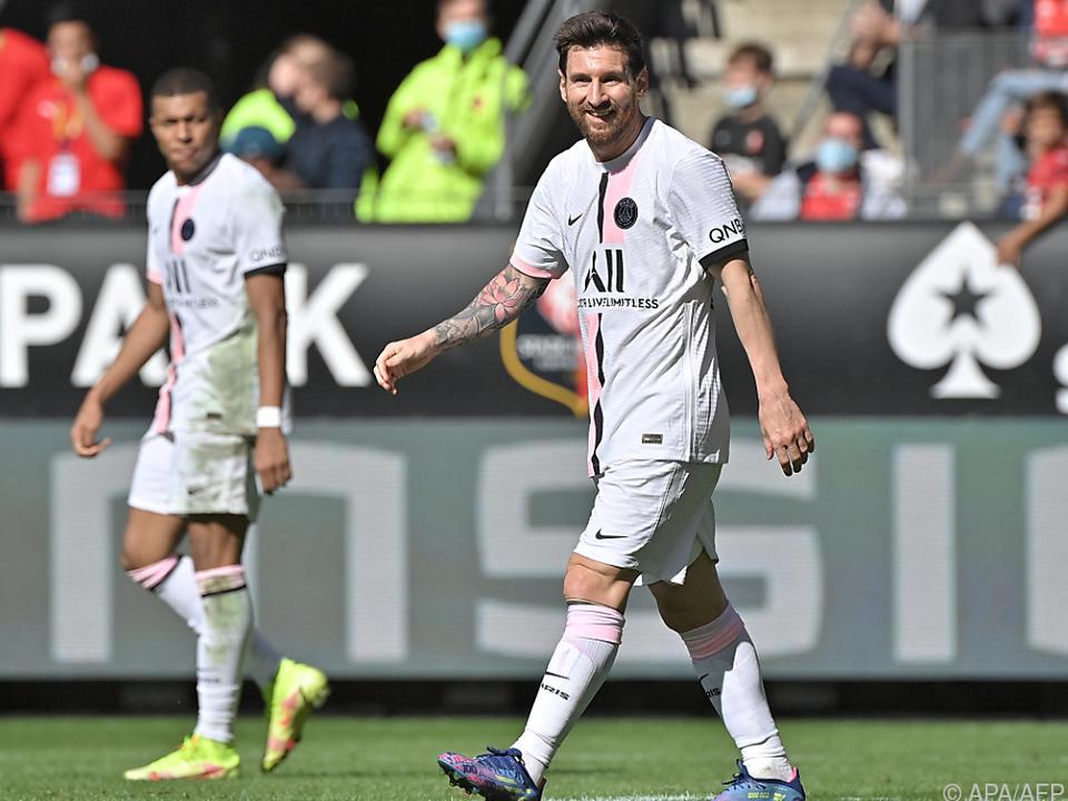 Messi und Mbappe verloren mit PSG gegen Rennes