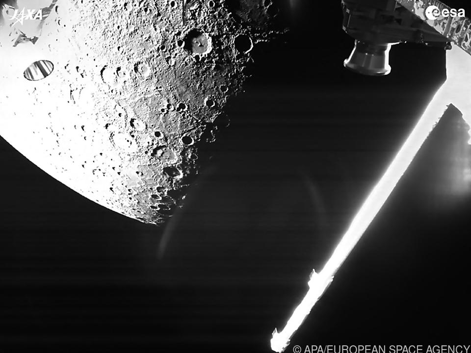 Mondähnlicher Merkur: Erste Bilder von BepiColombo