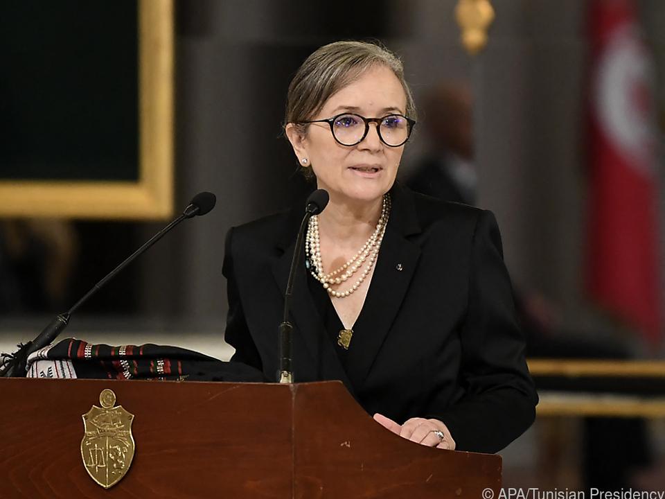 Najla Bouden ist die neue Regierungschefin Tunesiens
