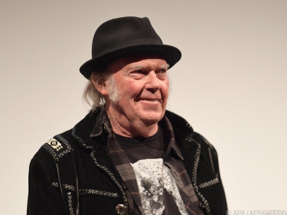 Neues Album von Neil Young kommt im Dezember