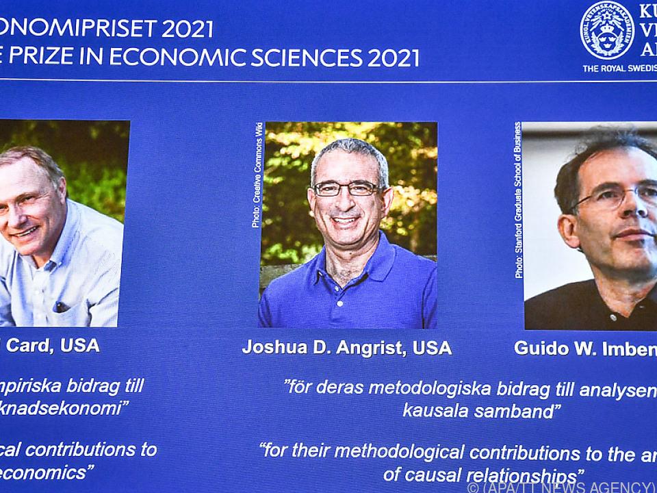 Nobelpreisträger lieferten neue Erkenntnisse über den Arbeitsmarkt.