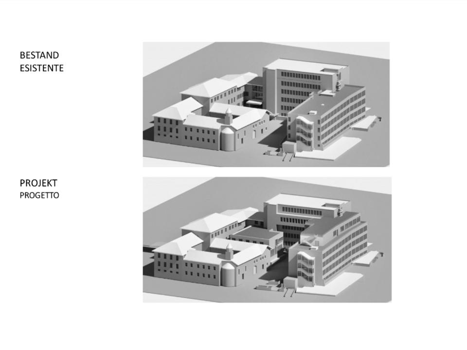 krankenhaus innichen erweiterung plan