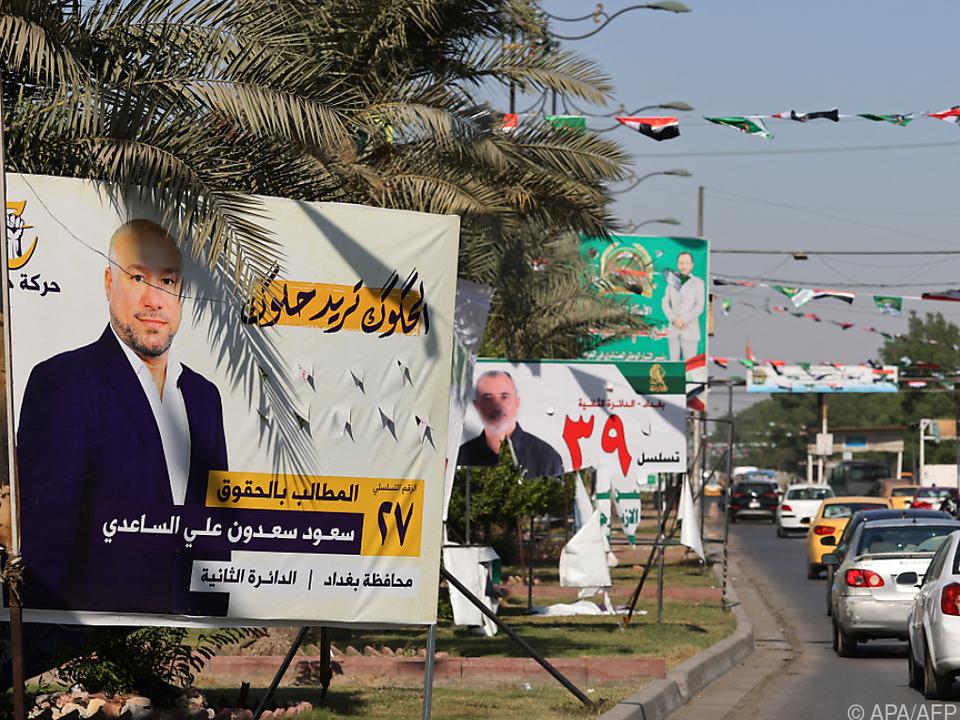 Parlaments-Wahlkampf im Irak