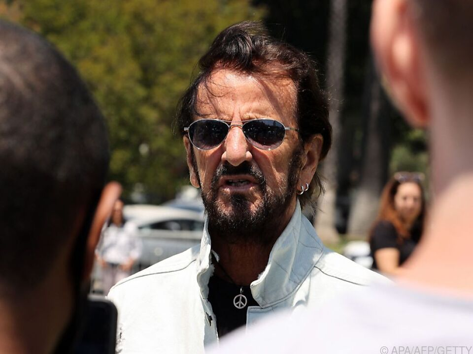 Ringo Starr nahm bei einer Zoom-Pressekonferenz Stellung