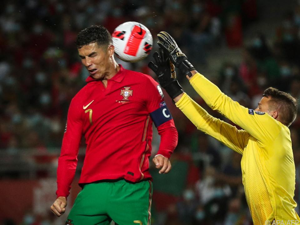Ronaldo war einmal mehr in Torlaune