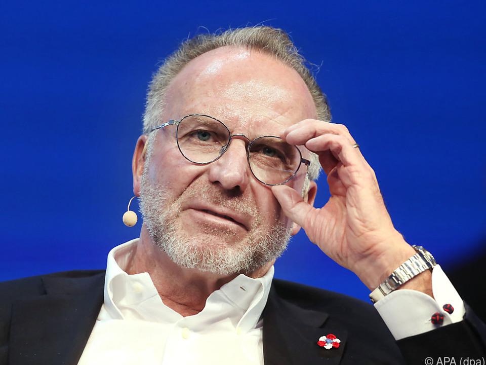 Rummenigge wünscht sich mehr Schärfe beim Financial Fairplay