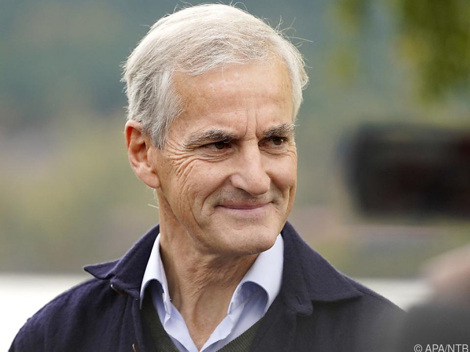 Sozialdemokraten-Chef Jonas Gahr Störe hat den Machtwechsel geschafft