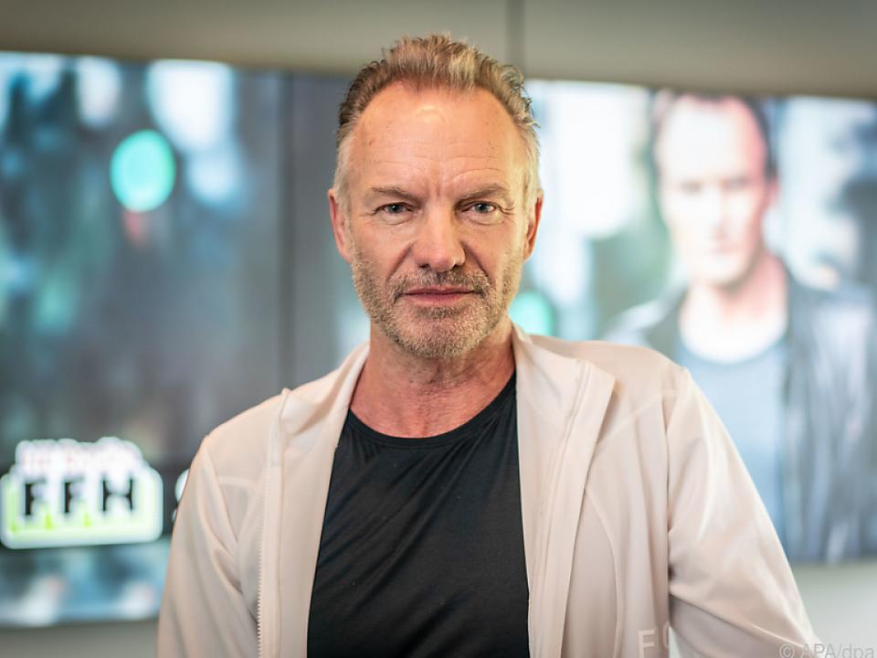 Sting hat keine Zeit für Nostalgie