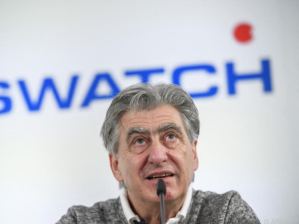 Swatch-CEO Nick Hayek