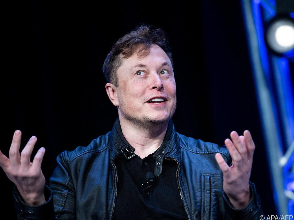 Tesla-Chef Elon Musk