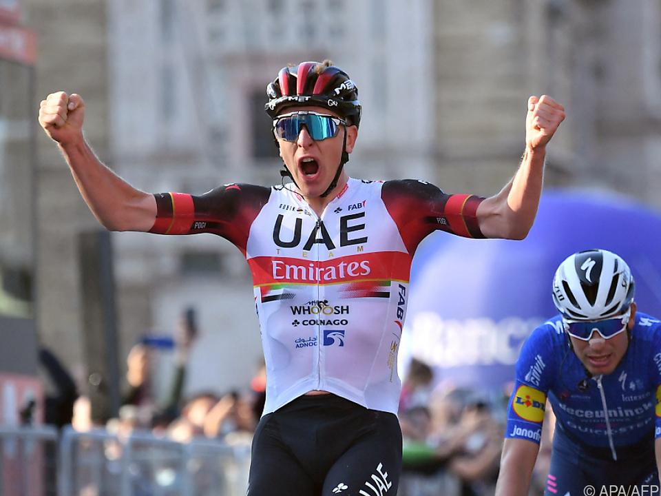 Tour-Sieger Pogacar schnappte in der Lombardei zu