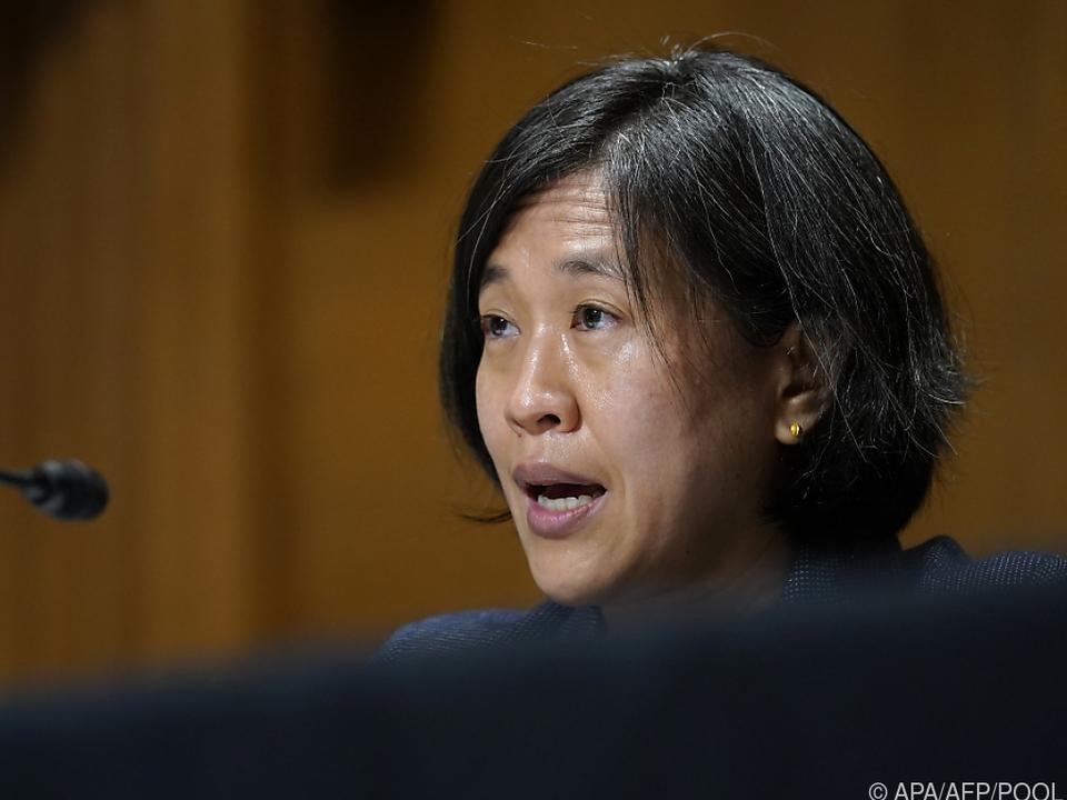 US-Handelsbeauftragte Tai hält an hartem Kurs gegenüber China fest