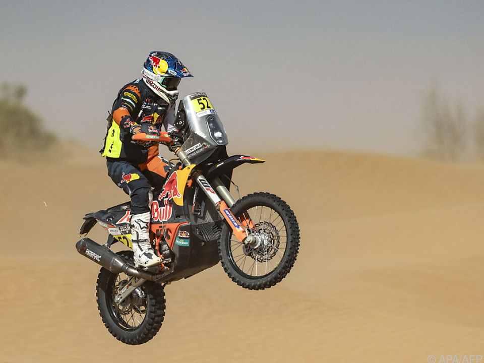 Walkner fiel bei Marokko-Rallye zurück