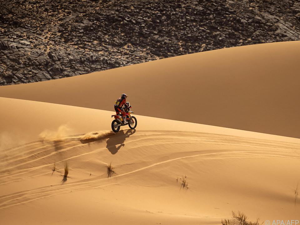 Walkner geht als Führender in die Schlussetappe der Marokko-Rallye
