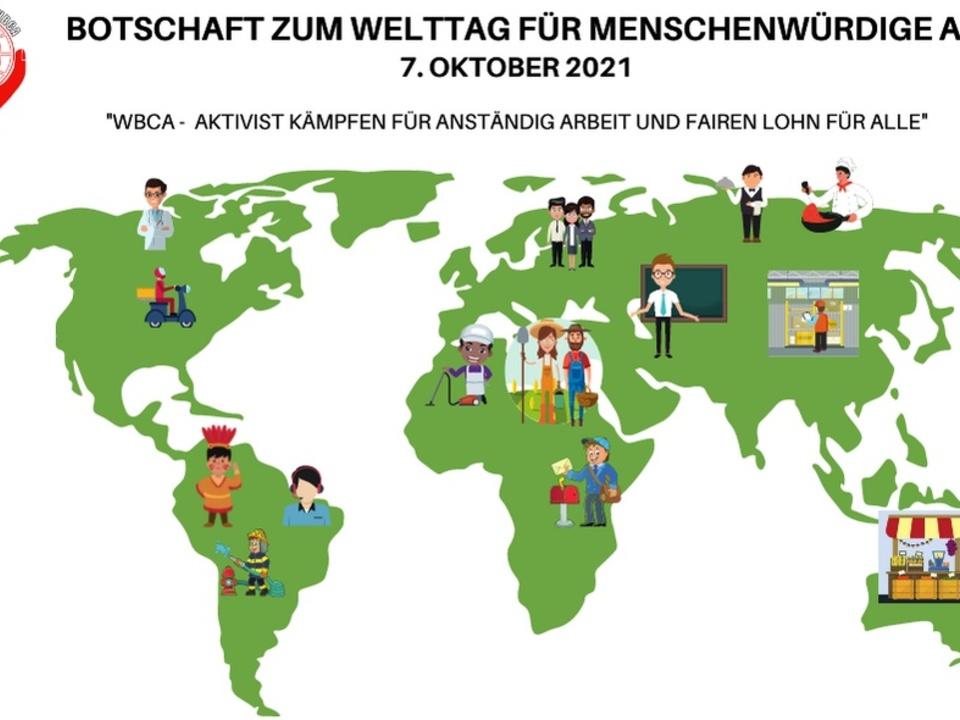 Welttag menschenwürdige Arbeit - WBCA