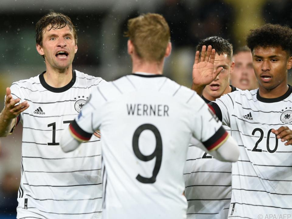 Werner als Doppeltorschütze bei souveränem deutschen Sieg