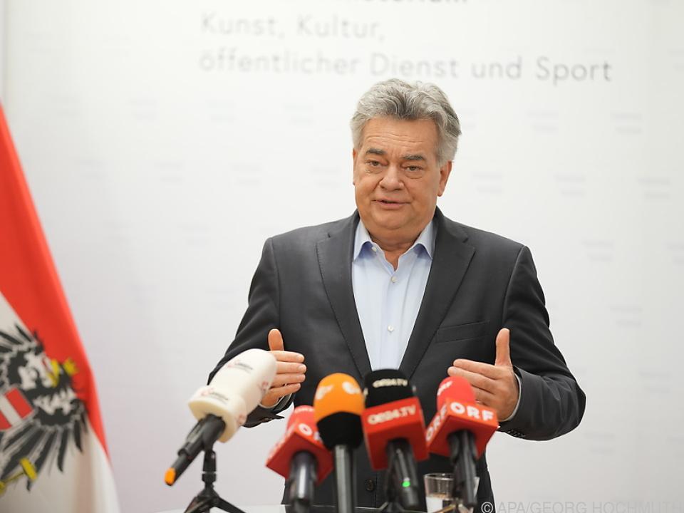 Werner Kogler ist mit dem Wechsel bei der ÖVP einverstanden