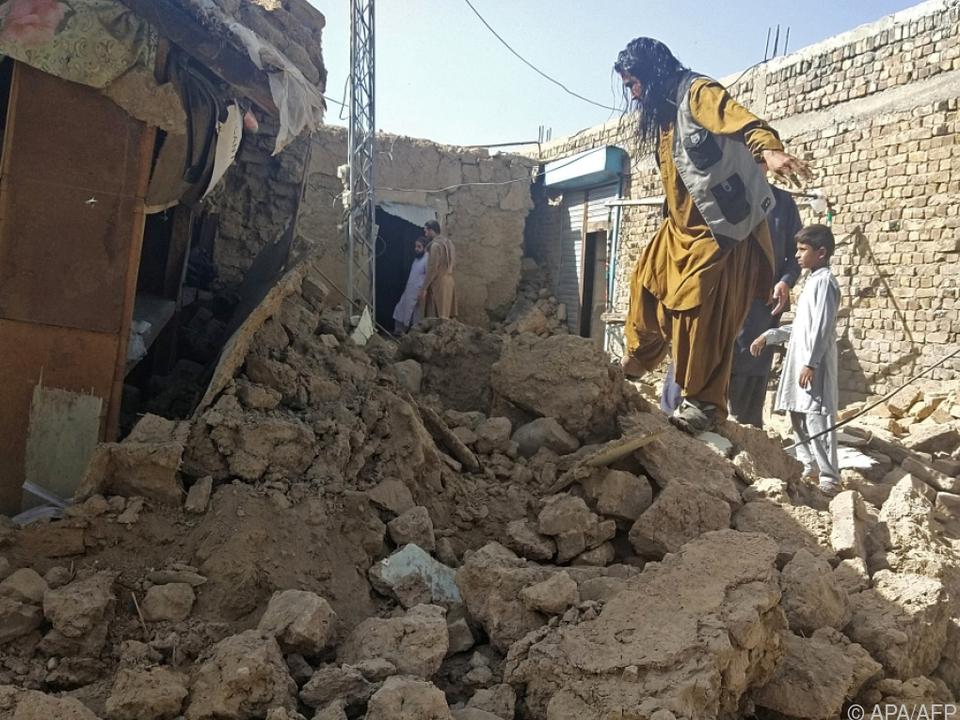 Zahlreiche Schäden durch das Erdbeben